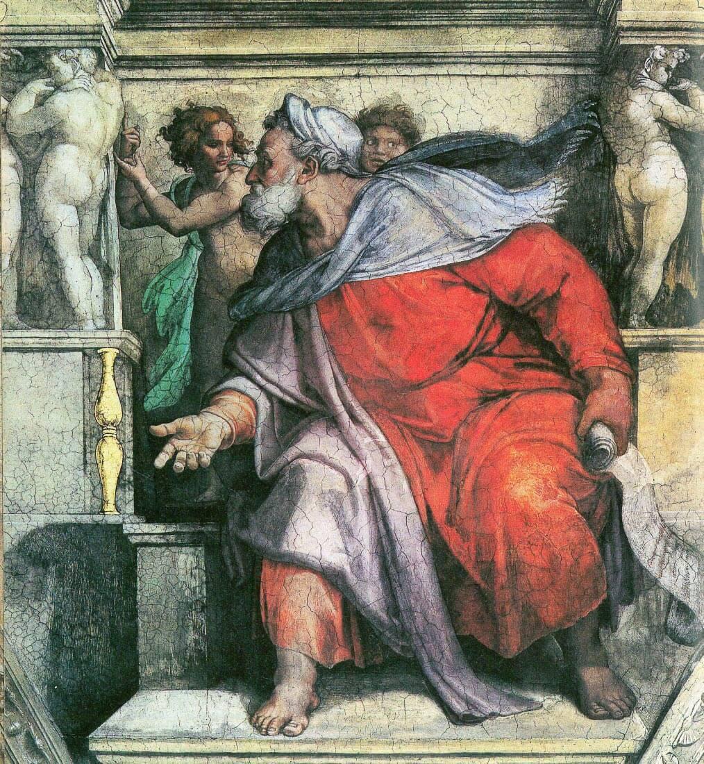 The prophet Ezekial - Michelangelo