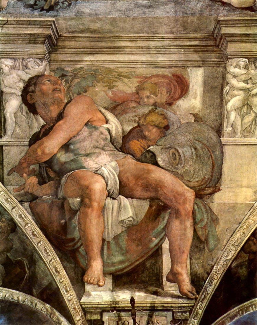 The prophet Jonas - Michelangelo