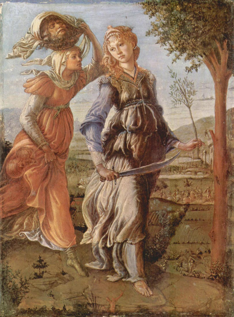 The return after Judith Bethulia - Botticelli
