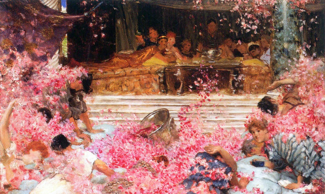 The roses of Heliogabalus - Alma-Tadema