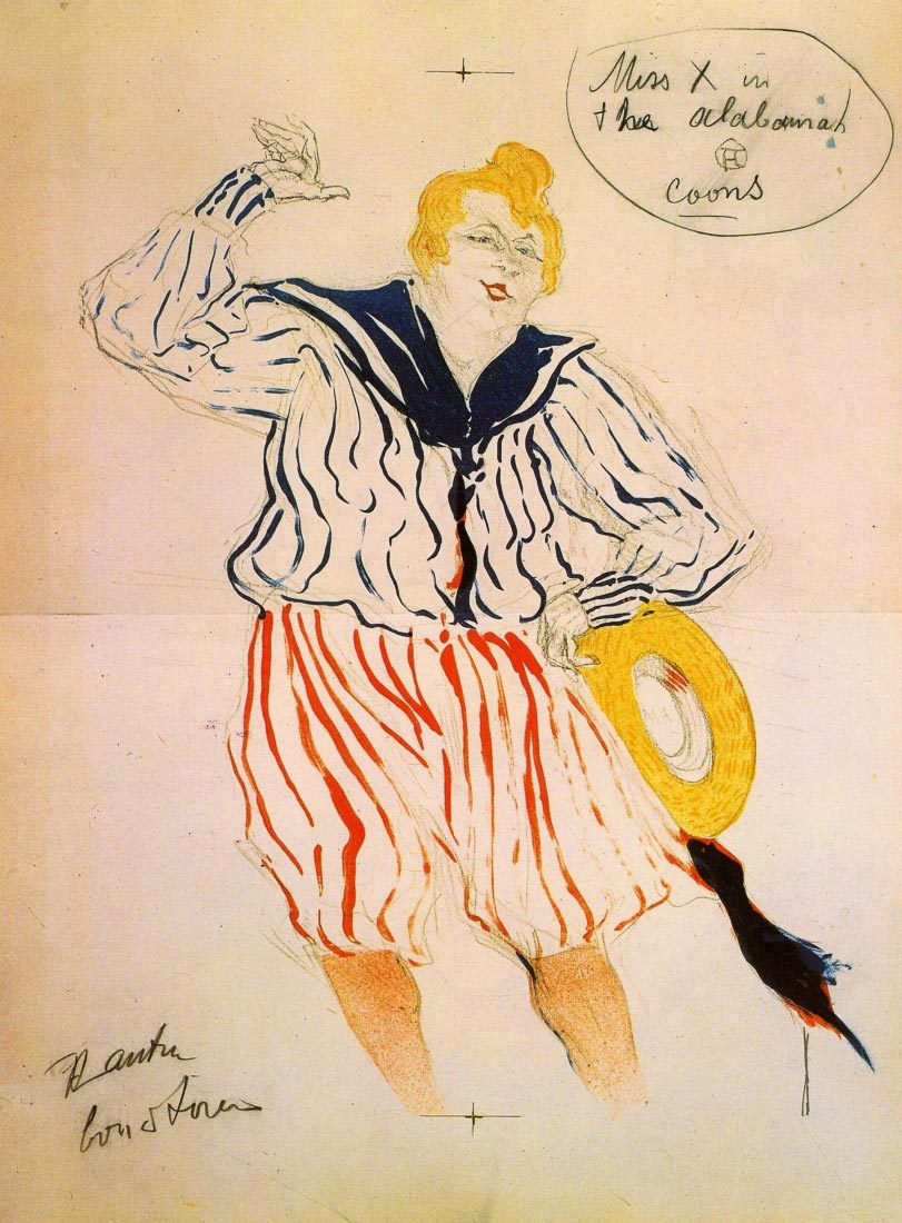 The seamen song - Toulouse-Lautrec