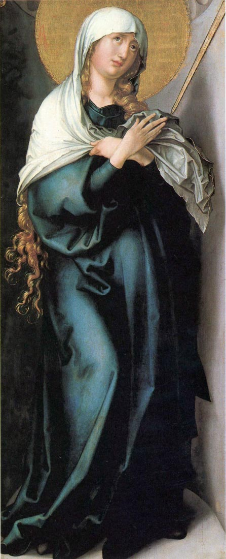 The seven Marys pain - Pain as a mother - Durer