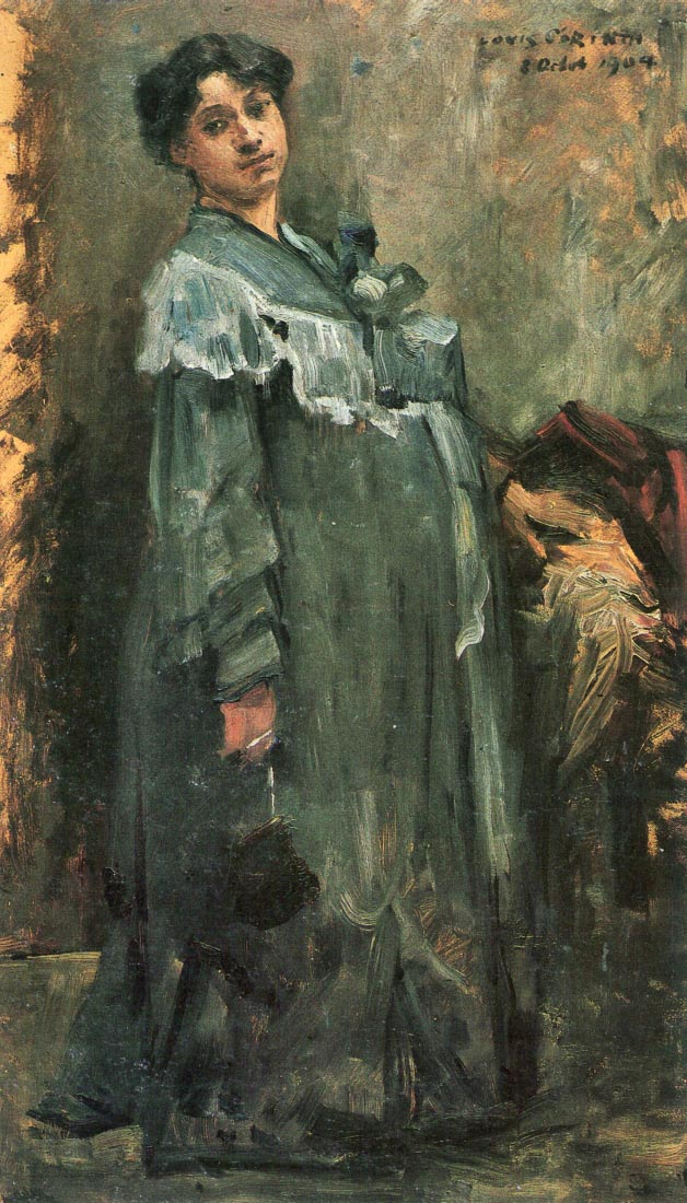 The silk coat - Lovis Corinth