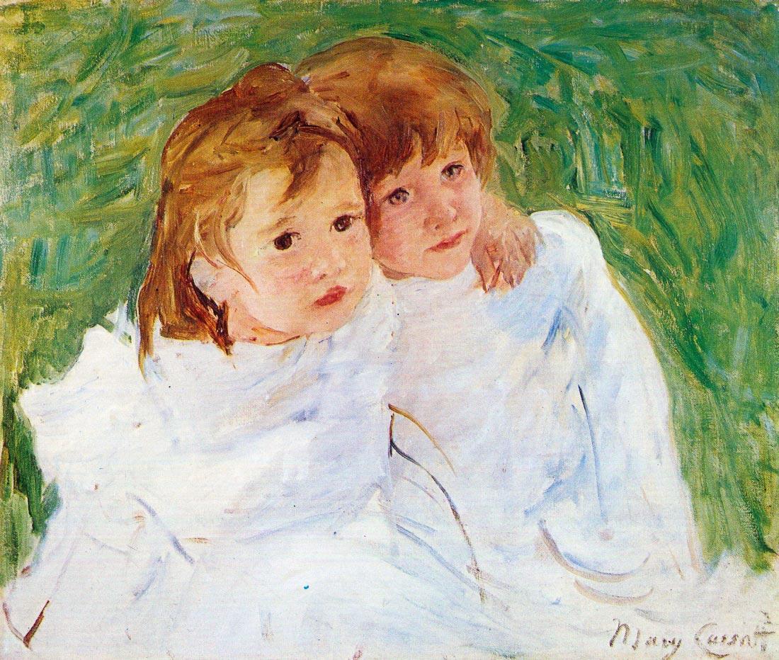 The sisters - Cassatt