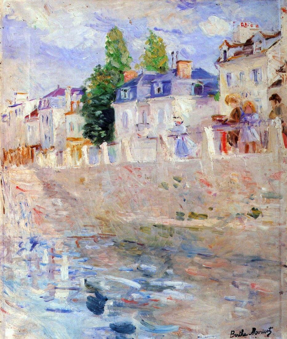The sky in Bougival - Morisot