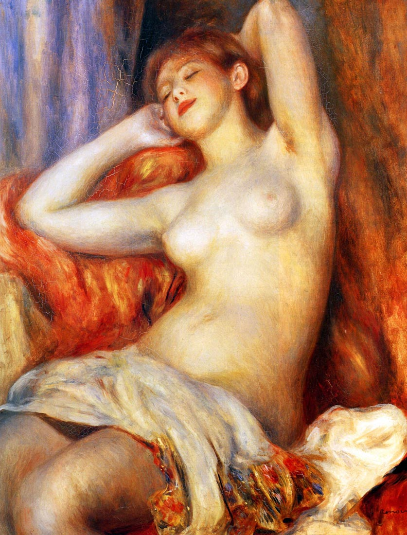 The sleeping - Renoir