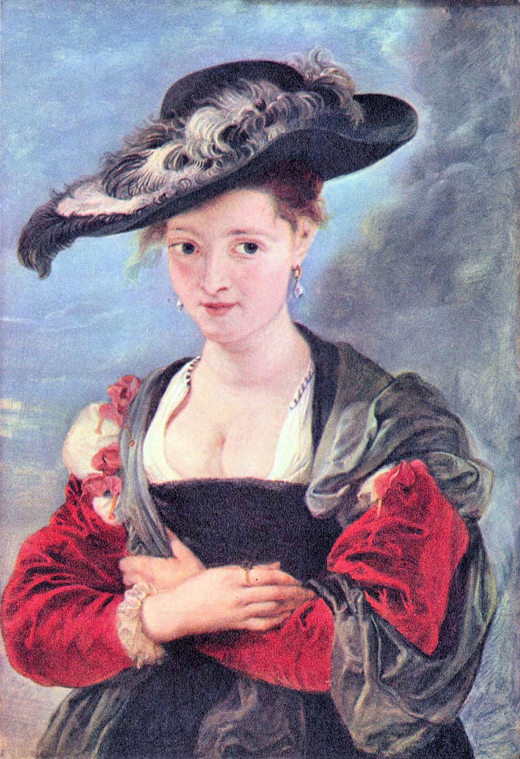 The straw hat - Rubens
