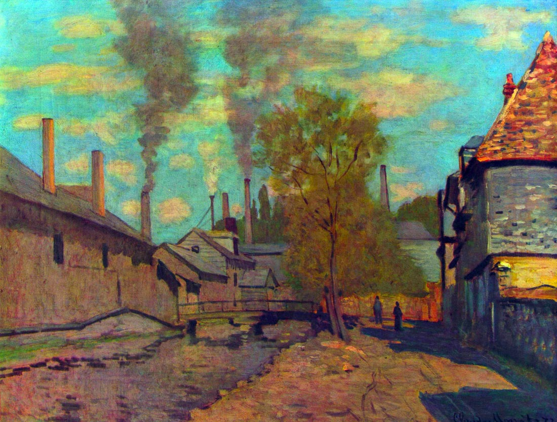 The stream of Robec - Monet