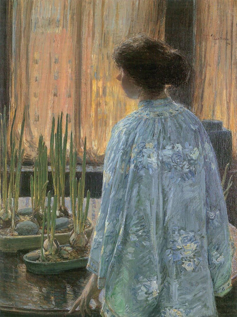The table garden - Hassam