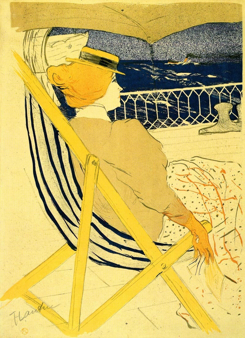 The traveller 2 - Toulouse-Lautrec