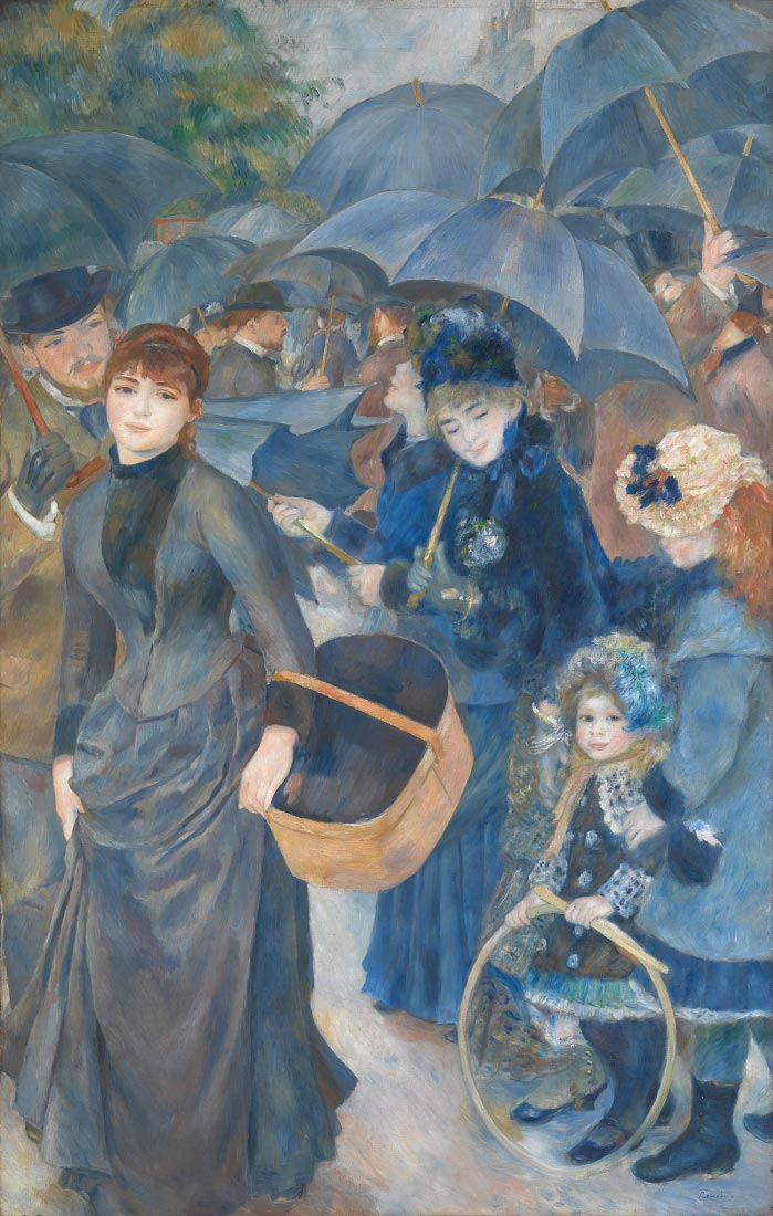 The umbrellas - Renoir