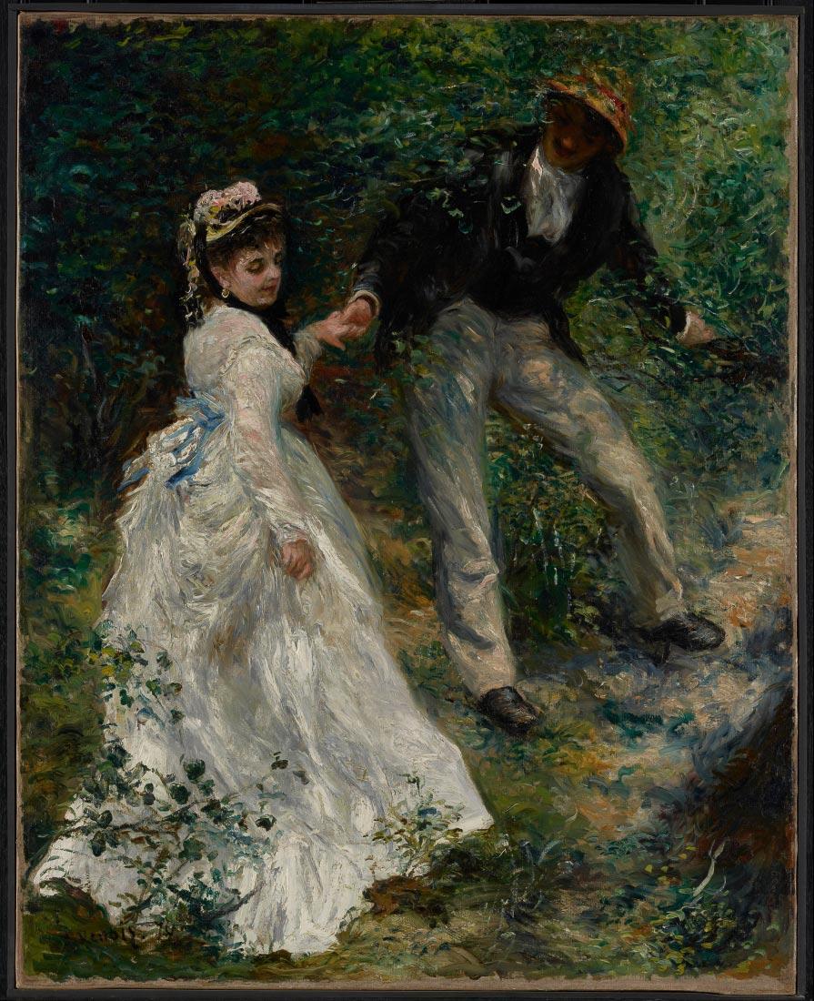 The walk - Renoir