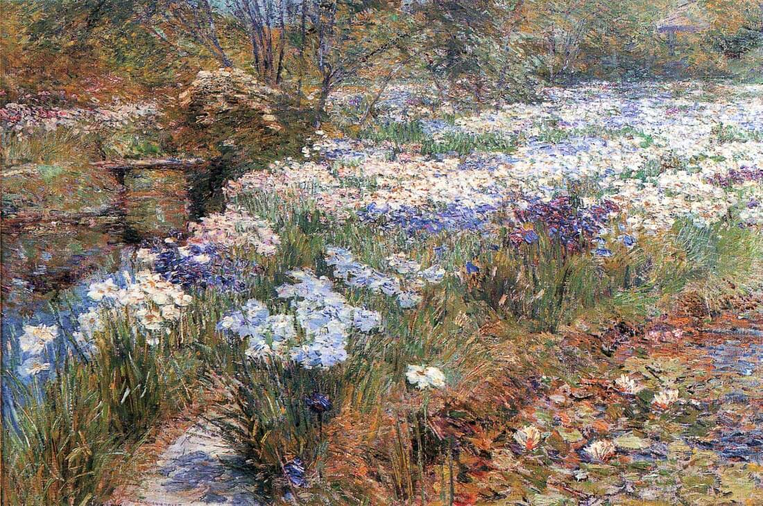 The water garden - Hassam