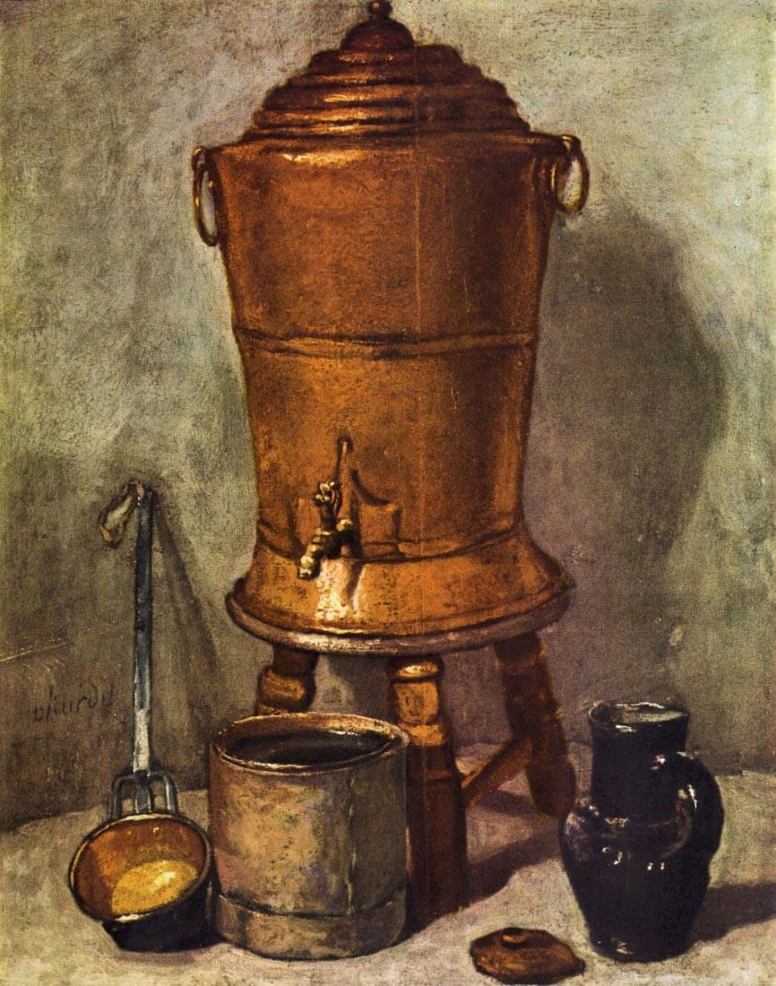 The water tank - Jean Chardin