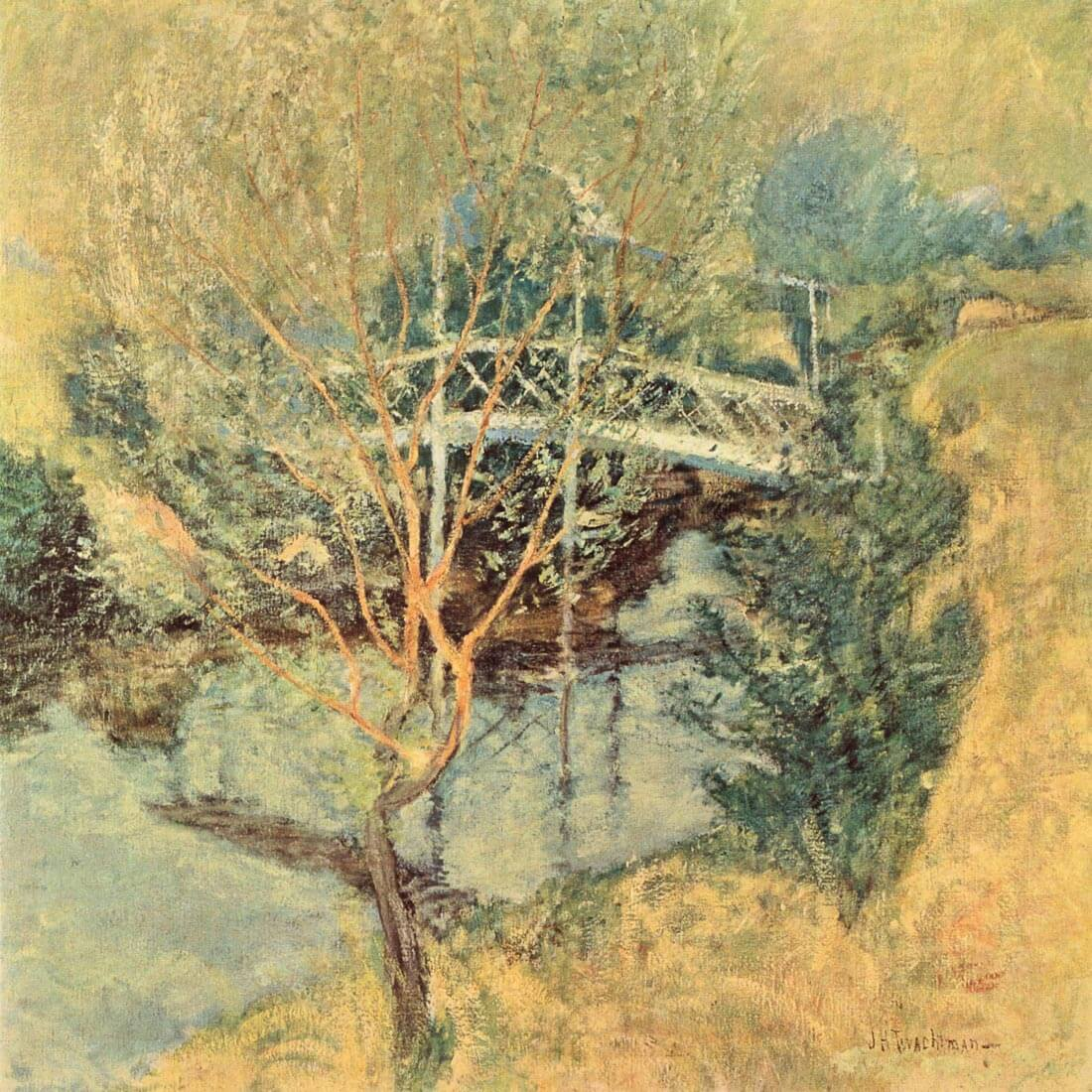 The white bridge - Twachtman