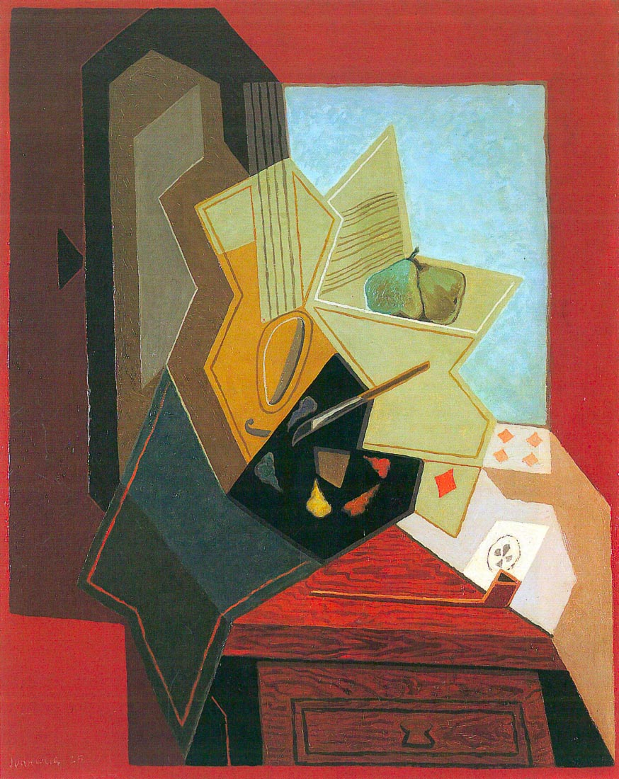 The window of the painter - Juan Gris