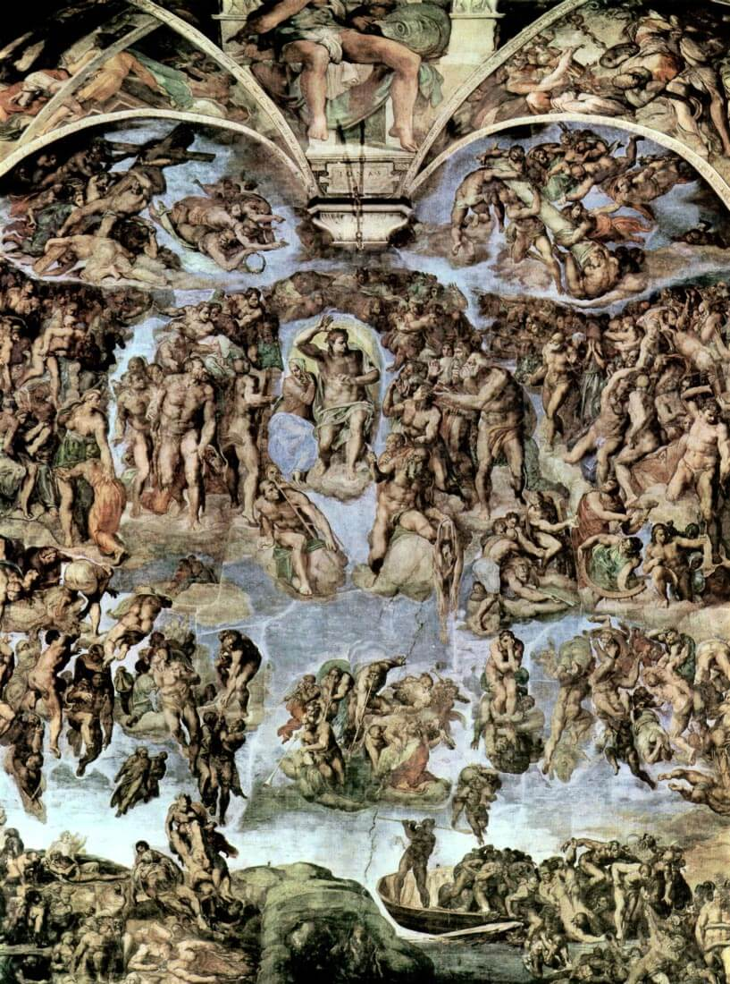 The youngest court - Michelangelo