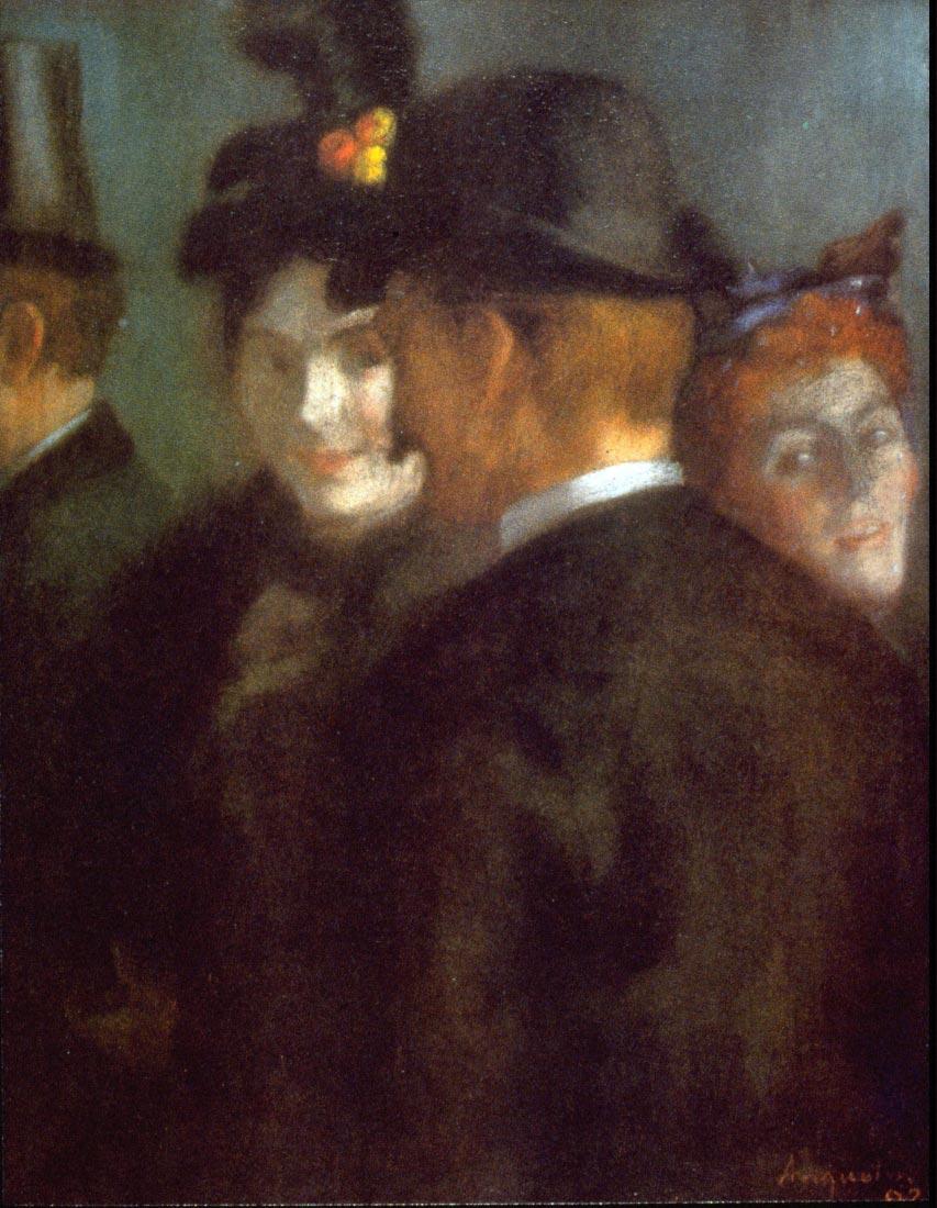 Theatre Foyer - Anquetin