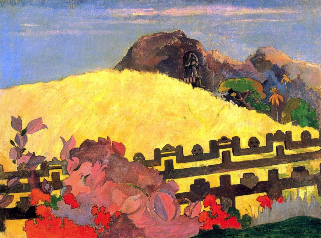 There is the Temple - Gauguin