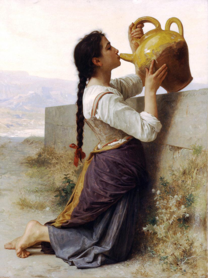 Thirst - Bouguereau