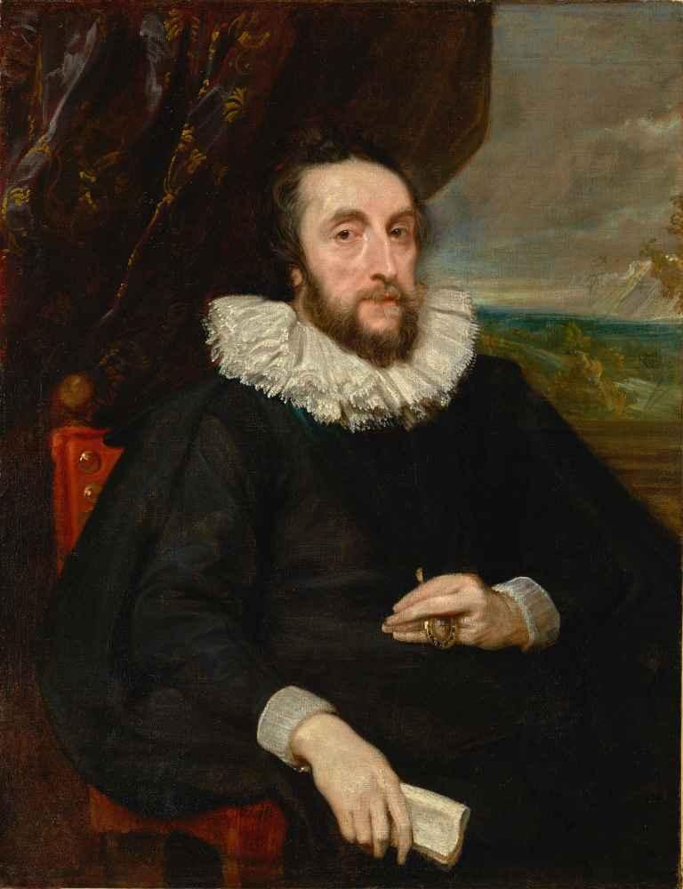 Thomas Howard, 2nd Earl of Arundel - Antoon van Dyck