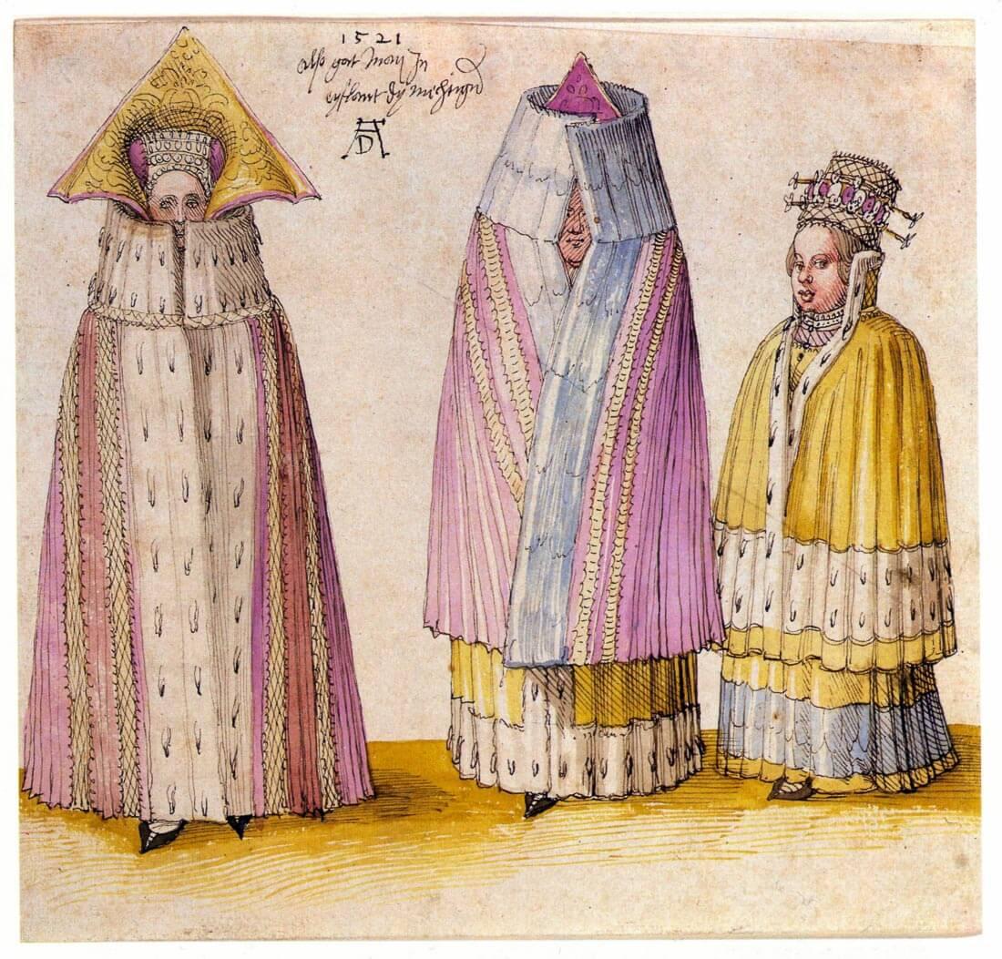 Three Livlanders - Durer