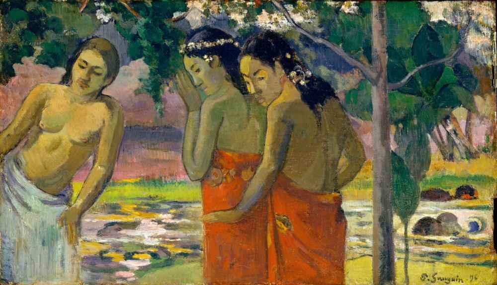 Three Tahitian Women - Paul Gauguin