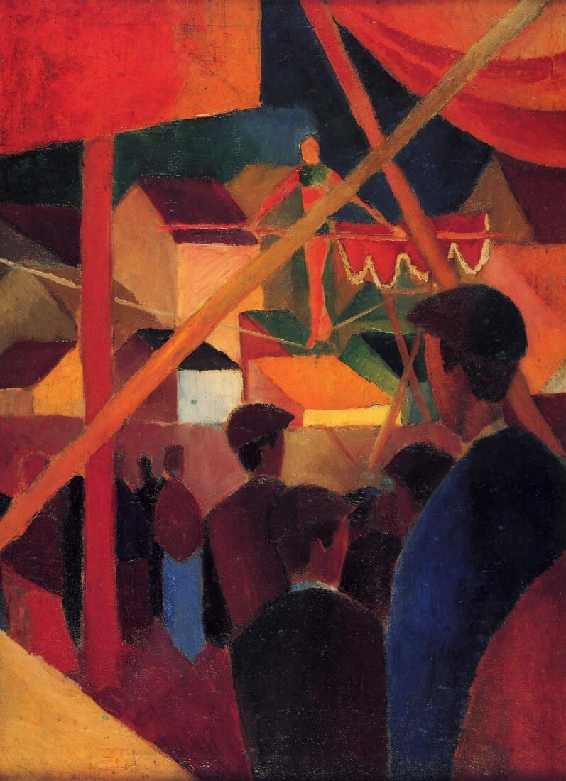 Tightrope - August Macke