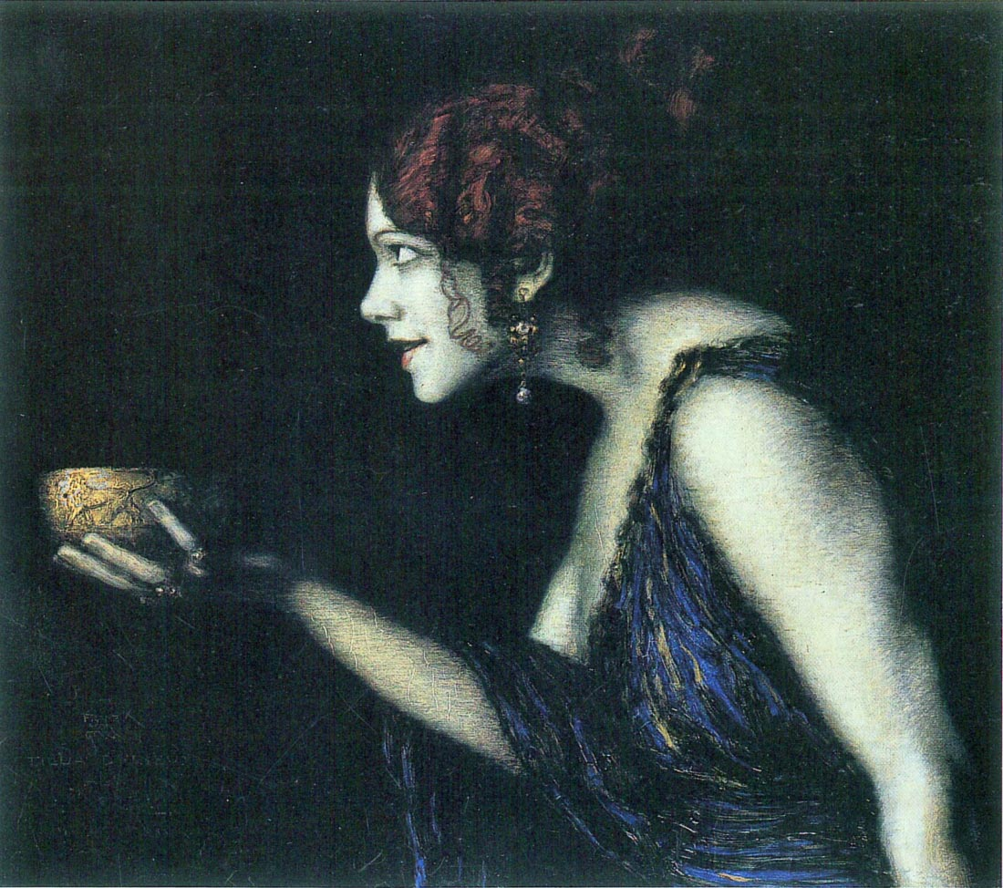 Tilla Durieux as Circe - Franz von Stuck