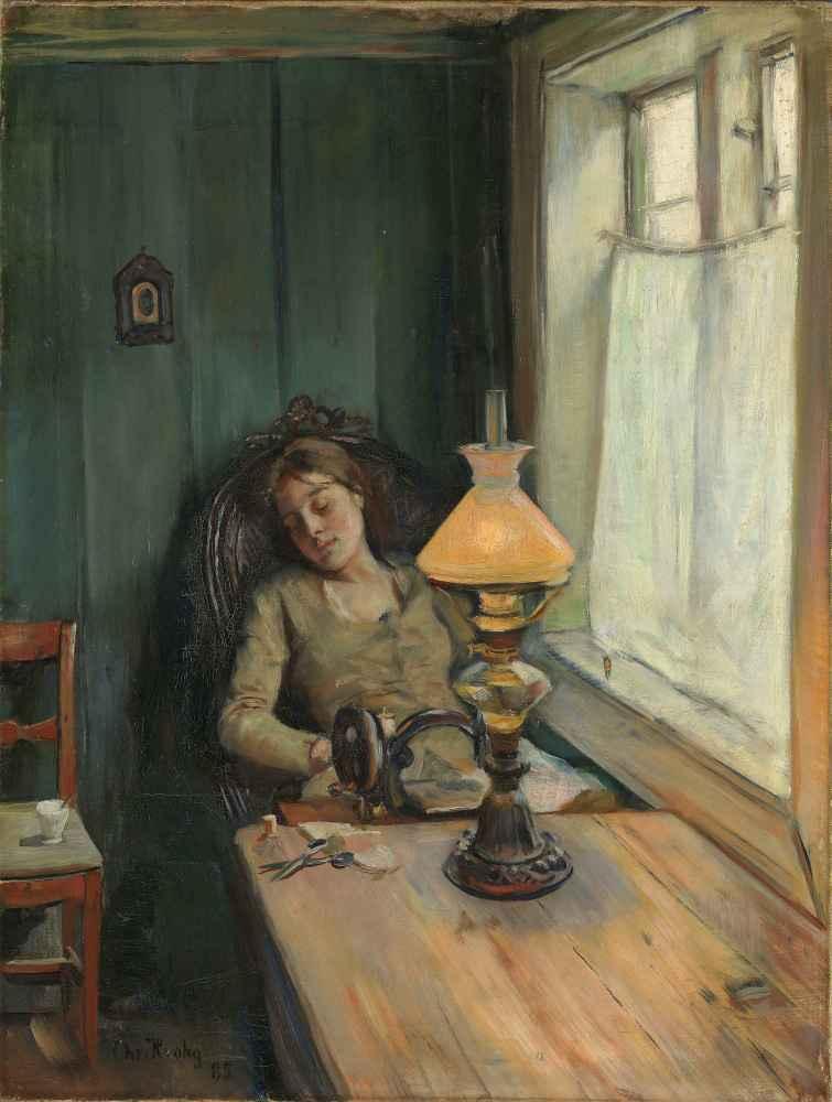 Tired - Christian Krohg