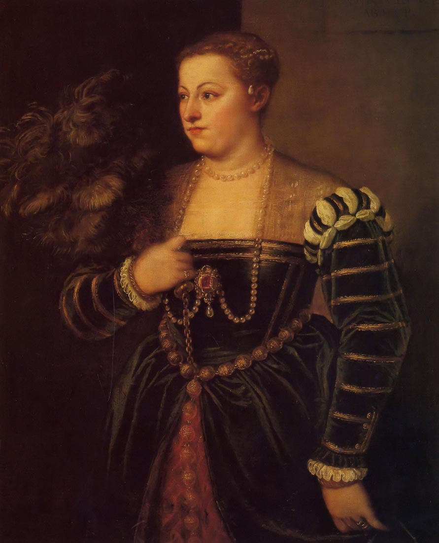 Titians daughter, Lavinia - Titian