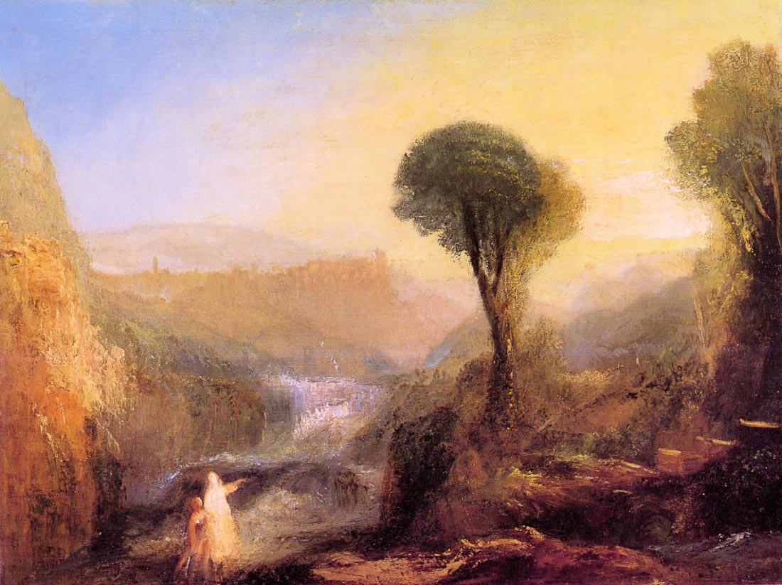 Tivoli - Tobias and the Engel - Joseph Mallord Turner