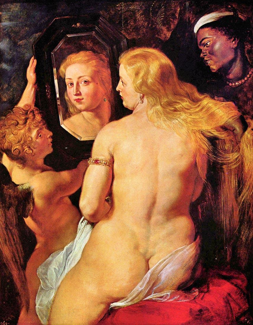 Toilette of Venus - Rubens