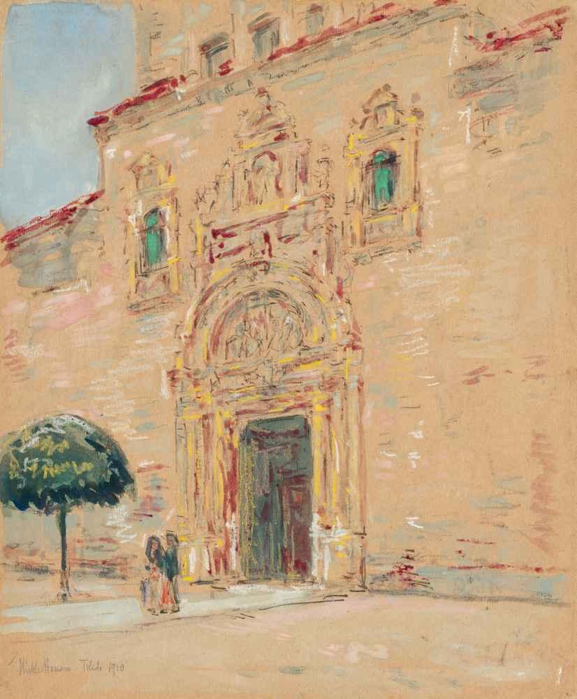 Toledo - Childe Hassam