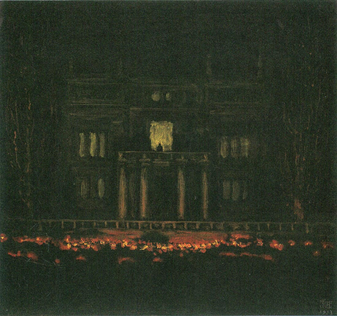 Torches - Franz von Stuck