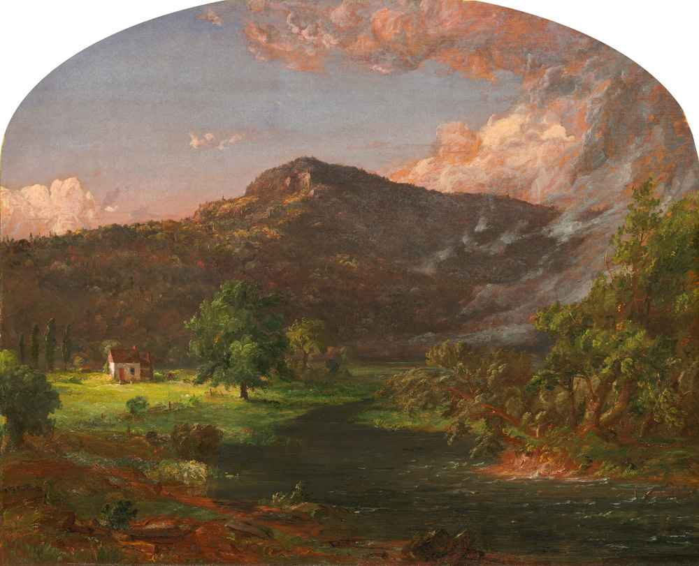 Tourn Mountain, Head Quarters of Washington, Rockland Co., New York -