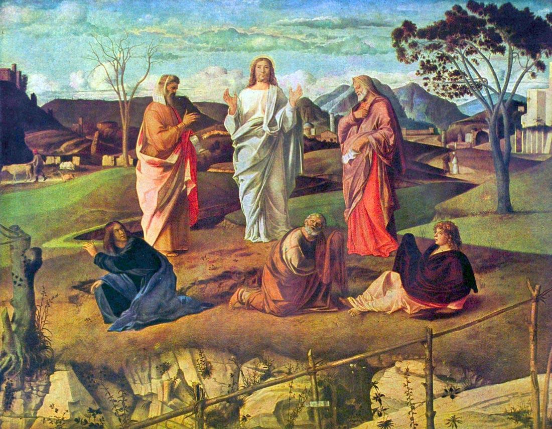 Transfiguration of Christ - Bellini