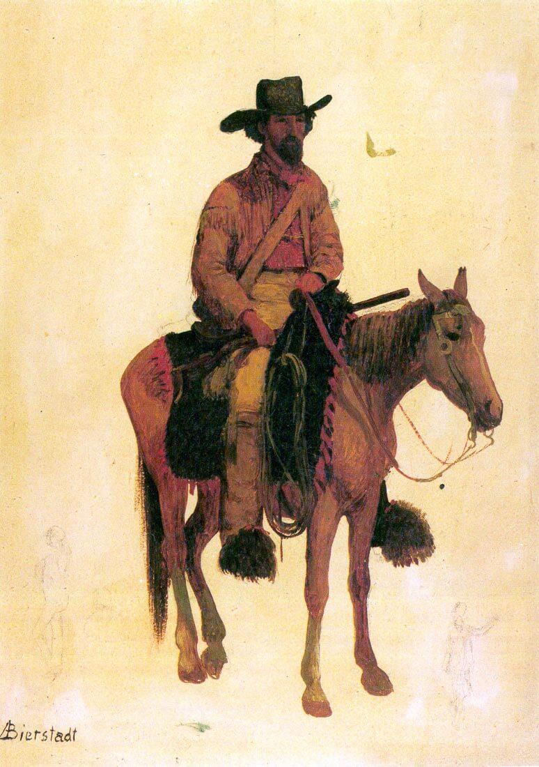 Trapper - Bierstadt