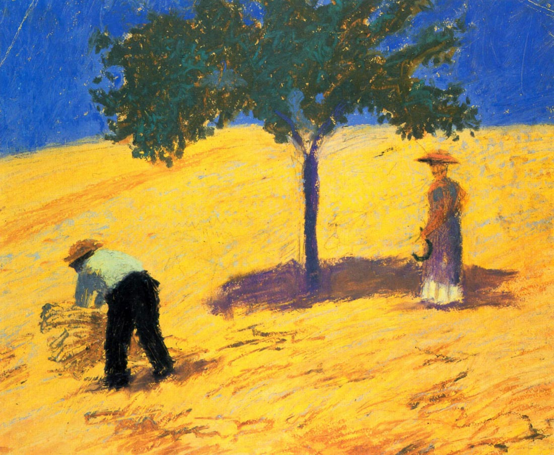 Tree in Cornfeld - August Macke