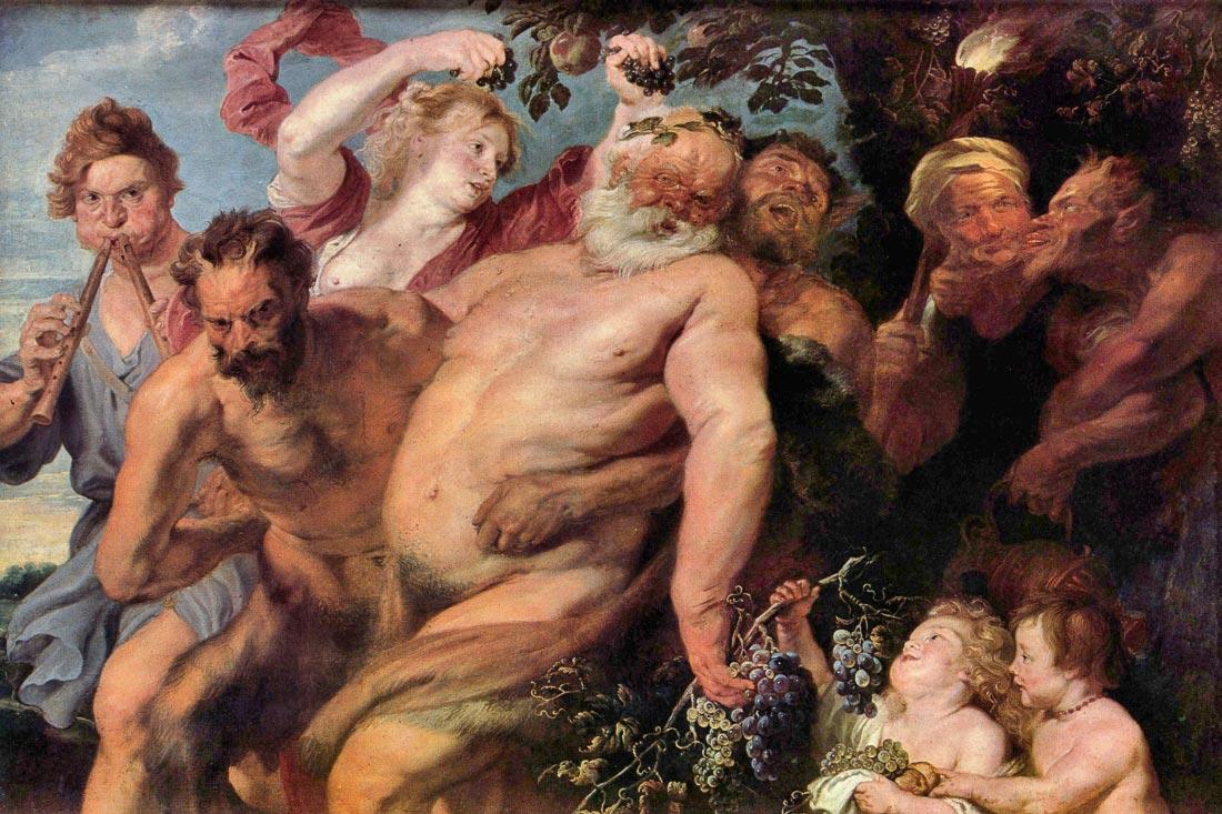 Triumph of Silenus - Van Dyck