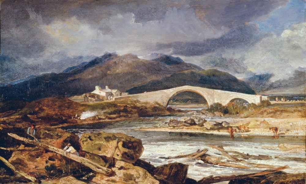 Tummel Bridge, Perthshire - Joseph Mallord William Turner