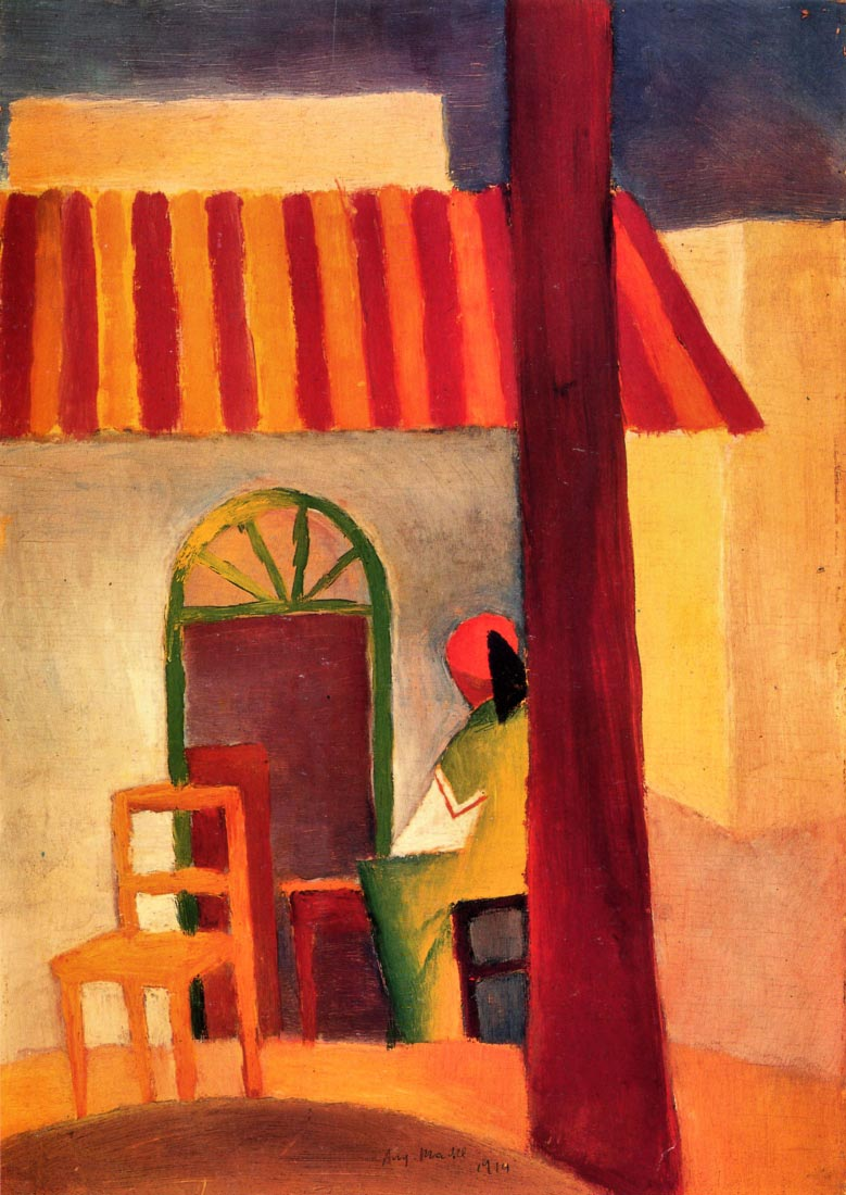 Turkish Cafe - August Macke