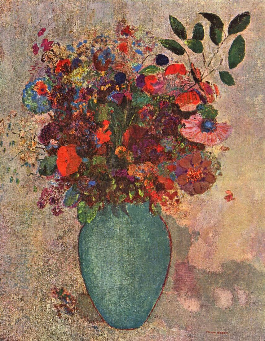 Turkish Vase - Odilon Redon