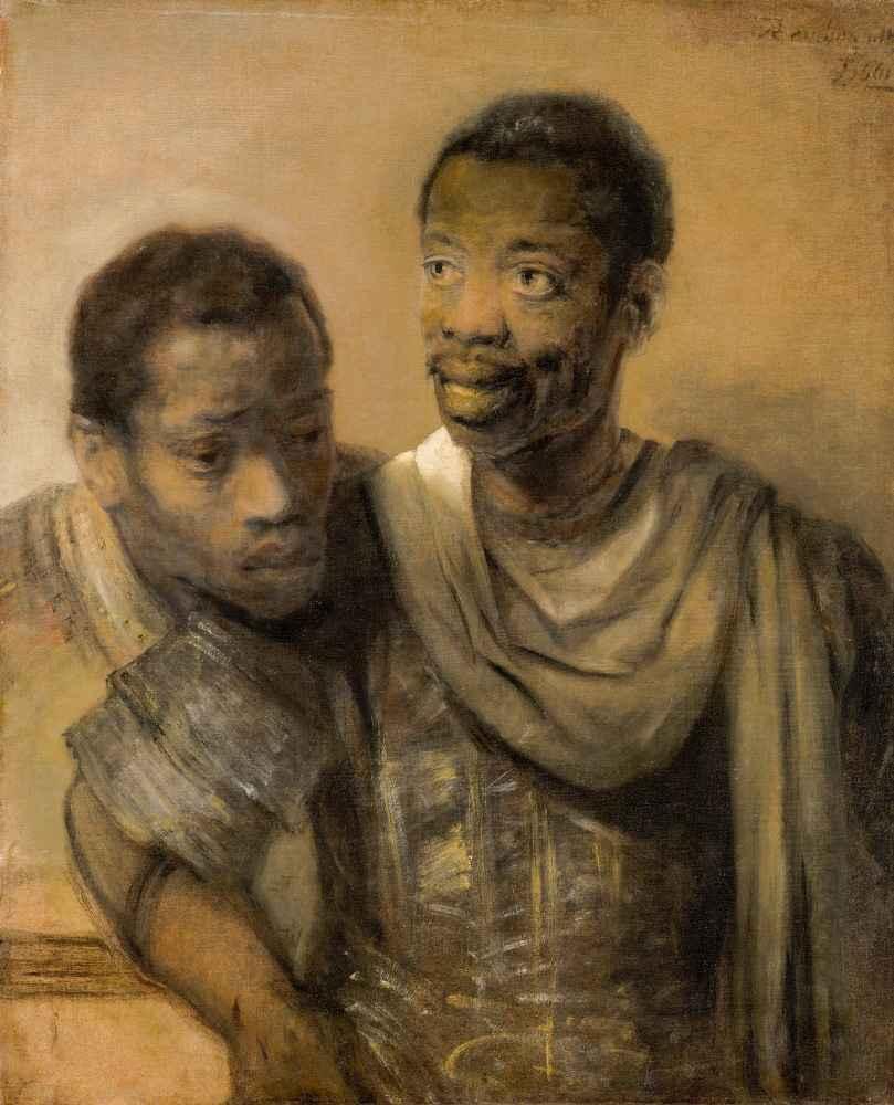 Two African Men - Rembrandt Harmenszoon van Rijn