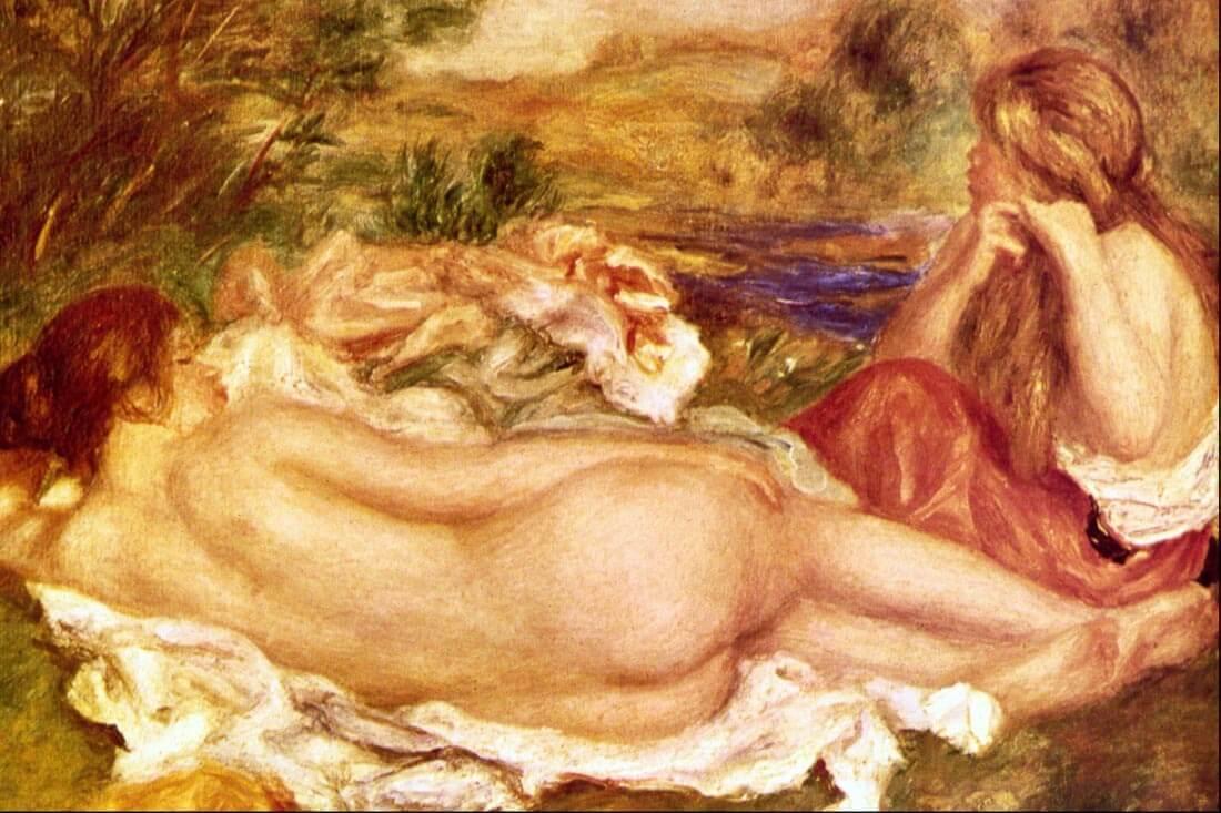 Two Bathers - Renoir