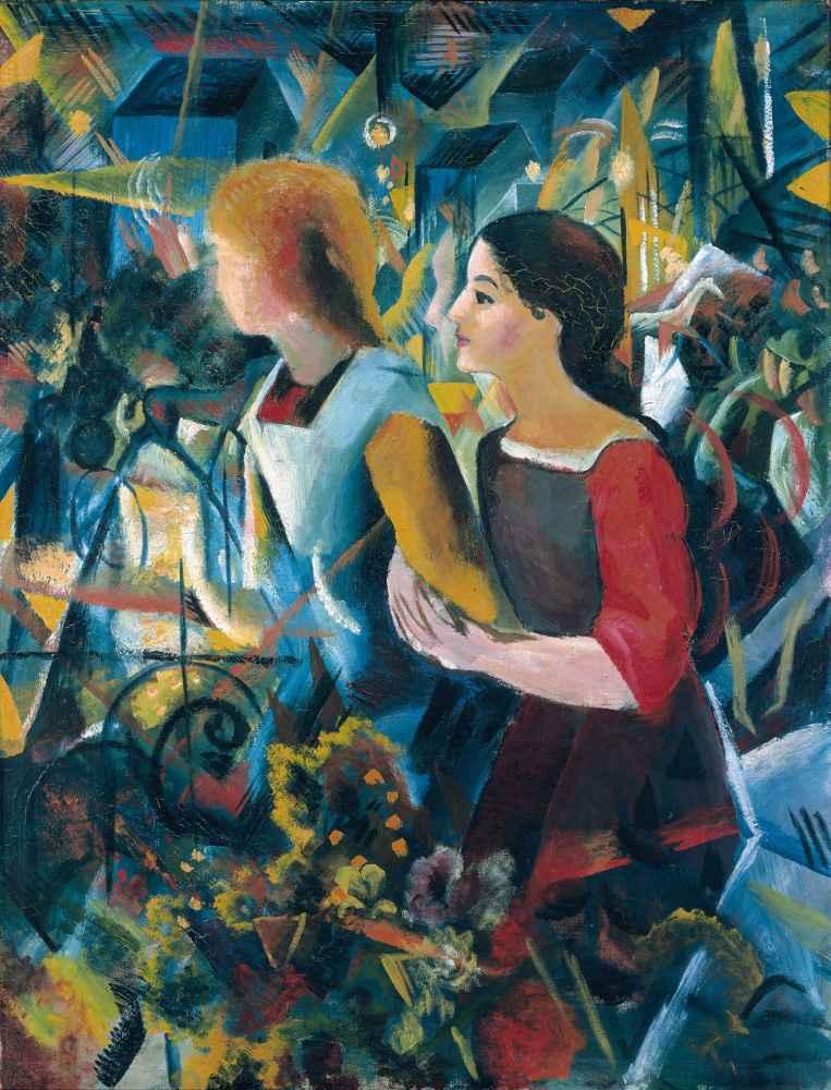 Two Girls - August Macke