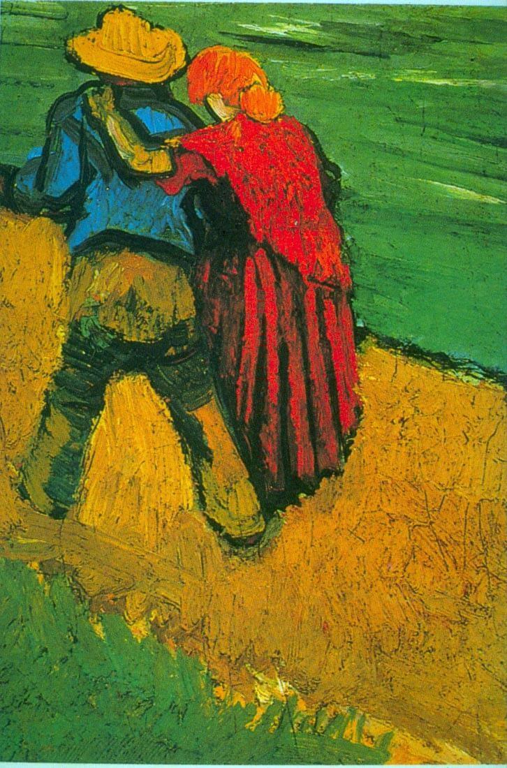 Two Lovers - Van Gogh