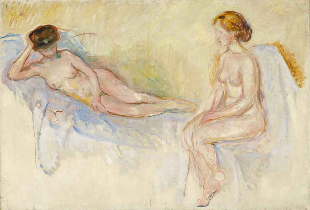Two Nudes - Edward Munch