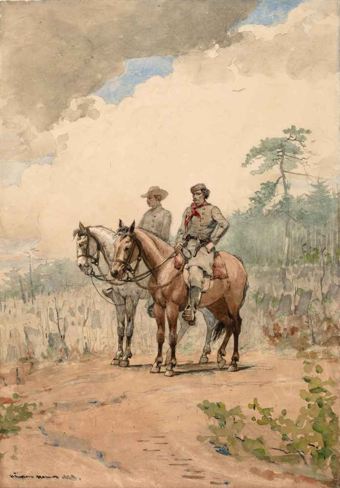 Two Scouts - Winslow Homer
