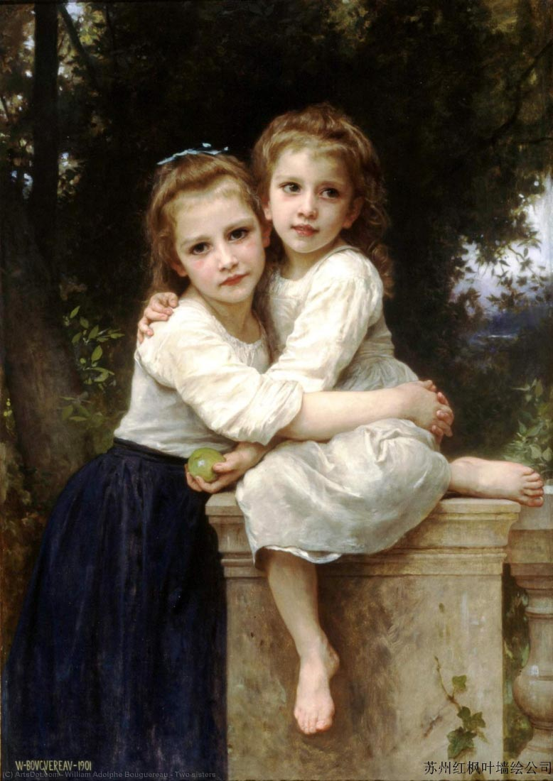 Two Sisters - Bouguereau